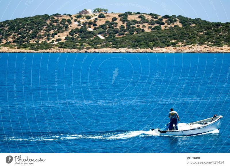 Man Nature Water Sky Tree Ocean Green Blue Beach Calm Loneliness Far-off places Freedom Sadness Landscape Watercraft