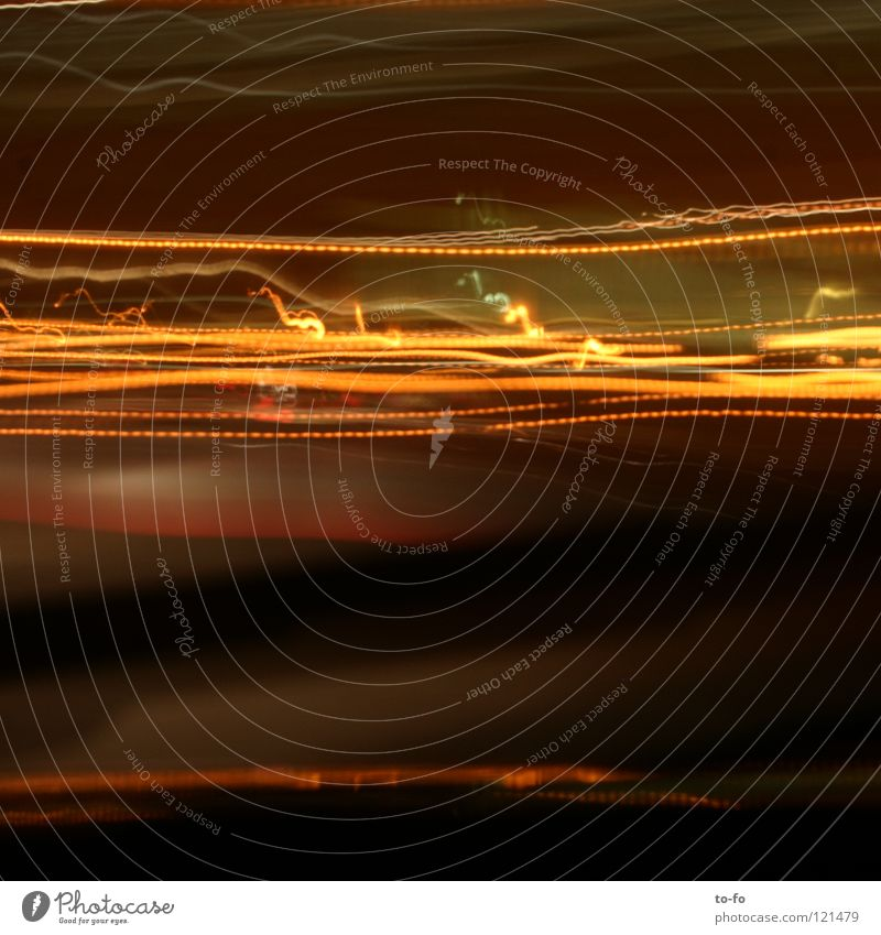 10 seconds Light Tracer path Time Driving Abstract Long exposure Transport Street Lamp