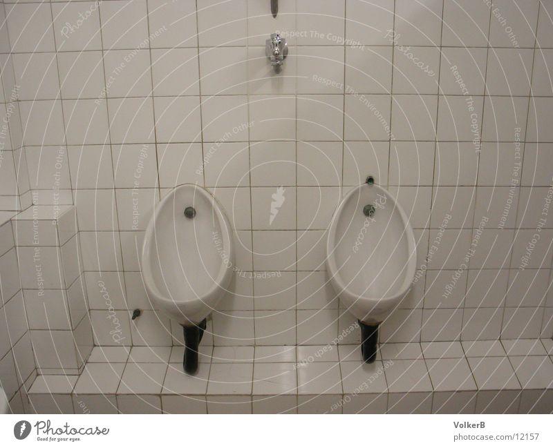 White Bathroom Club Urinate Urinal