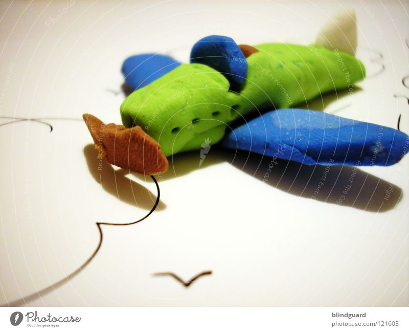 Blue Green Clouds Joy Emotions Playing Small Think Lake Brown Bird Leisure and hobbies Aviation Infancy Creativity Wing