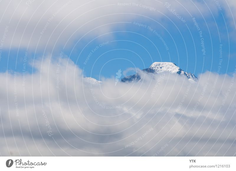 cloud window Environment Nature Elements Sky Clouds Storm clouds Climate Climate change Bad weather Wind Mountain Peak Snowcapped peak Threat Infinity Cold