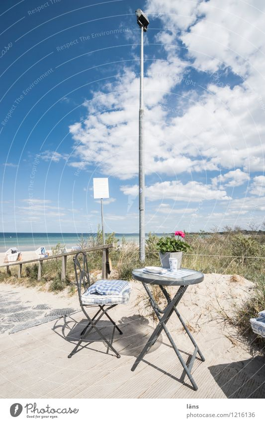 beach cafe Baltic Sea Beach Ocean Maritime Dune Beach dune Sky Tourism
