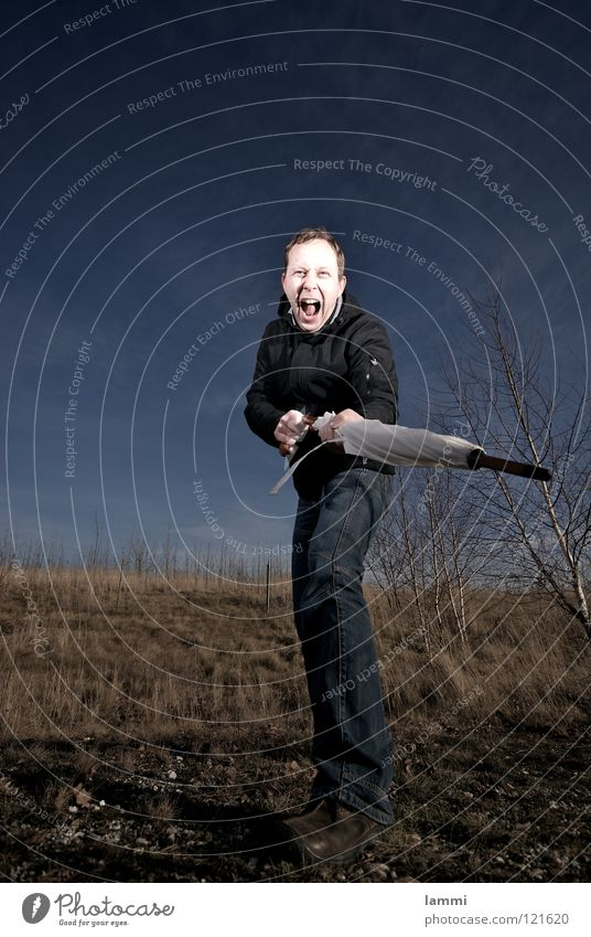 Don't come near me II. White Closed Hiking Leipzig Serene Future Meadow Birch tree Leaf Autumn Clouds Flash photo Exterior shot Jacket Pants Attack Aggression