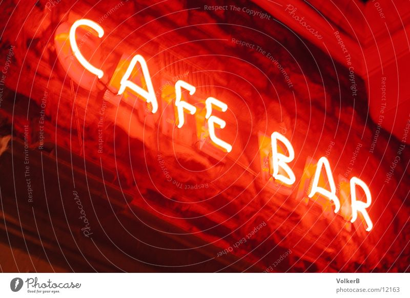 Cafe Neon Neon light Café Club Coffee Illuminate