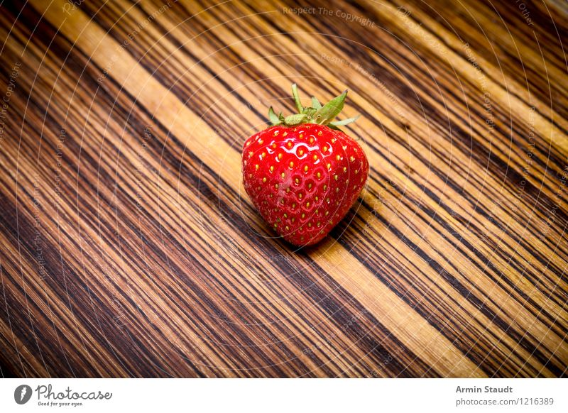strawberry Food Fruit Strawberry Nutrition Organic produce Vegetarian diet Diet Lifestyle Design Anticipation Fragrance Background picture Gourmet Single Snack