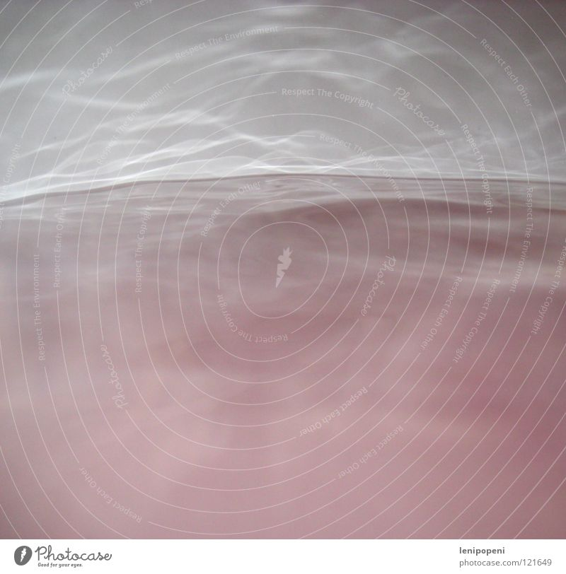 Don't make such a wave. Pink Waves Reflection Fog Bathroom Water Shadow Steam Banal Bathtub