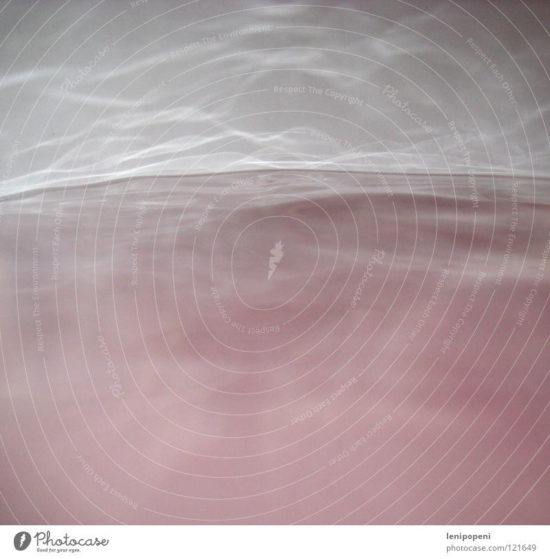 Water Waves Pink Fog Bathroom Bathtub Steam Banal
