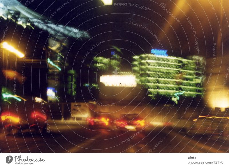 night moves Potsdamer Platz Sony Center Berlin Night Architecture Car Light Street
