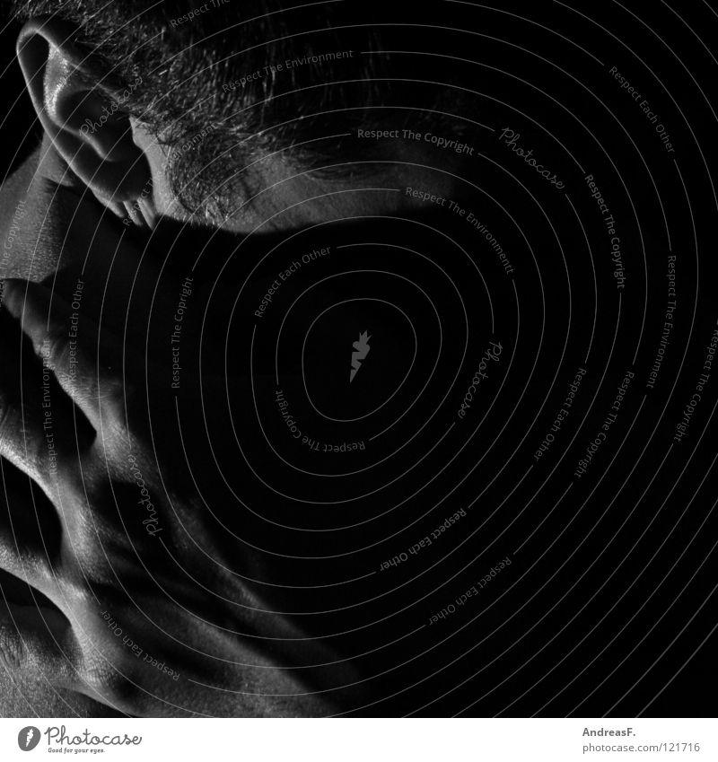 downside Listening Human being Hand Philosophy Mystic Dark Man Esotericism Philosopher Think Grief Concern Lovesickness Illness Trust Loneliness Dark side