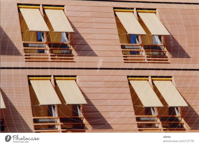windows Window Venetian blinds Potsdamer Platz Architecture marking