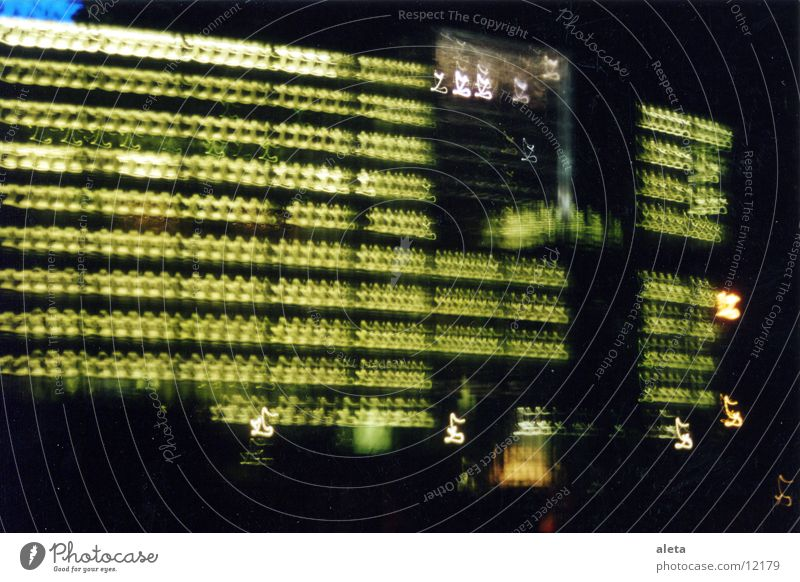 Nightlights Night shot Potsdamer Platz Sony Center Berlin Architecture Light Blur