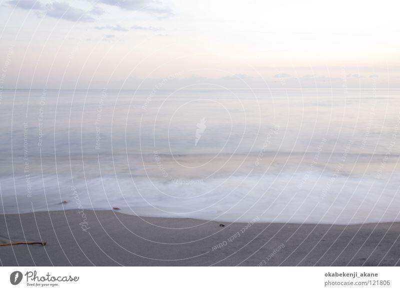 someday #2 Ocean sea Kamakura blue atmosphere Air water wave white evening dusky