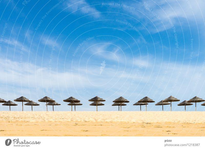 Sky Vacation & Travel Blue Summer Sun Relaxation Ocean Loneliness Landscape Beach Yellow Coast Sand Horizon Tourism Warm-heartedness