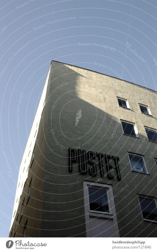 Sky Blue House (Residential Structure) Window Gray Building Minimalistic Bavaria Regensburg