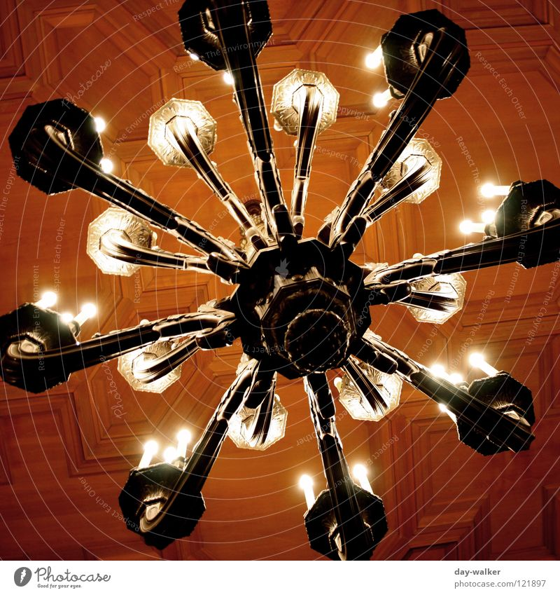 Gloss & Glamour Candlestick Chandelier Lamp Electric bulb Lighting Cone of light House (Residential Structure) Villa Hall Glittering Glamor Electricity