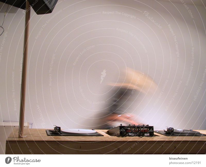 Movement Music Dynamics Radio (broadcasting) Disc jockey Record Workplace Mix Exchange Mixing desk Record player Profession