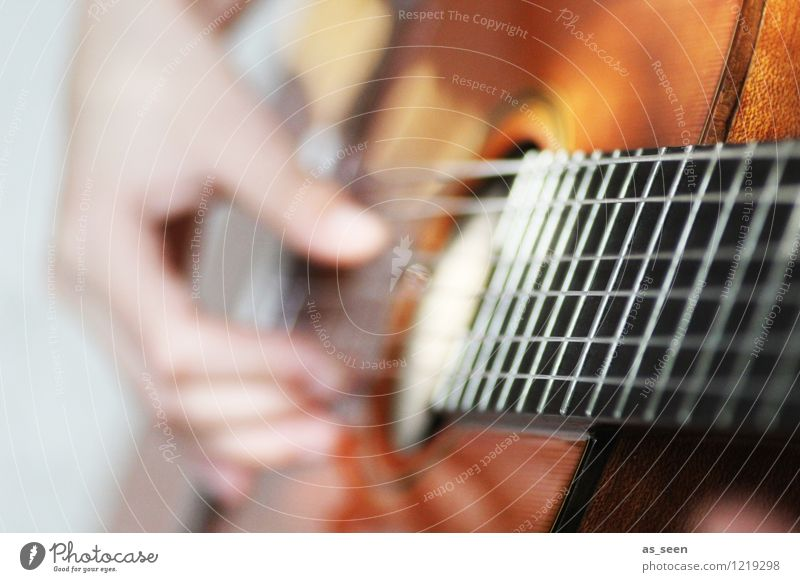 Guitar Playing II Hand Fingers Art Youth culture Subculture Rockabilly Shows Music Listen to music Concert Outdoor festival Band Musician Hip & trendy Warmth