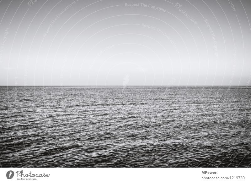 Relaxation Ocean Environment Horizon Waves Empty Beautiful weather Romance Baltic Sea Swell