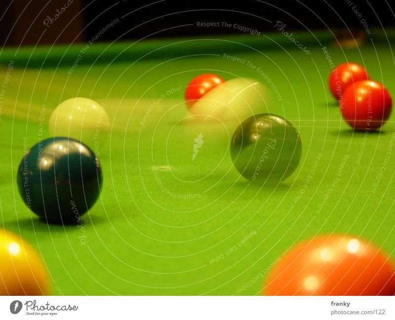 snooker2 Snooker Pool (game) Long exposure