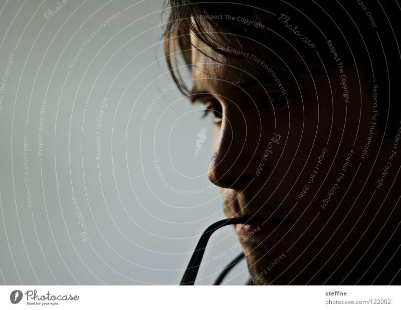 The Thinker Smart Profound Problem solving Man do-gooder steffne Intellect