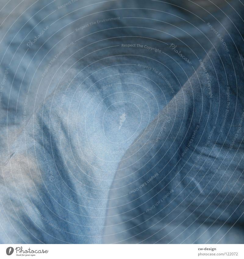 White Blue Calm Dark Bright Sleep Bed Near Peace Sign Wrinkles Symbols and metaphors Boredom Cozy Blanket Sheet