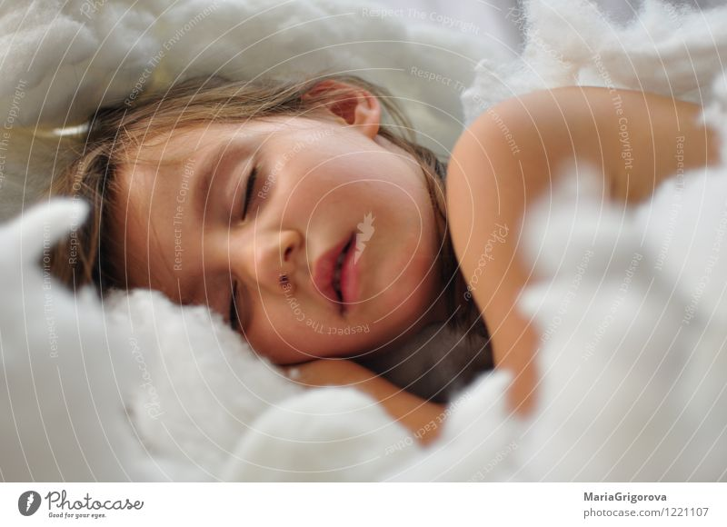 Sleeping angel Human being Child Girl Body Head Face Eyes Lips 1 3 - 8 years Infancy Happiness Healthy Natural Cute Positive White Emotions Protection