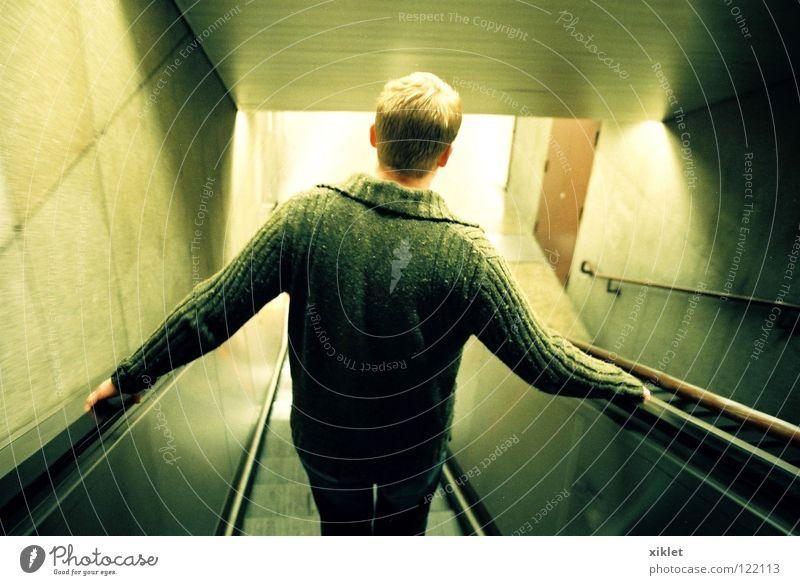 Man Green City Winter Blonde Germany Transport Running Stairs Munich Hot Tunnel Fatigue Underground Shirt Stress