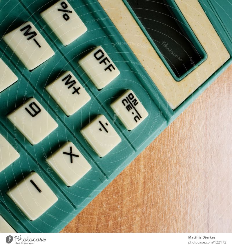 School Academic studies Technology Keyboard Solar Power Tilt Section of image Calculation Partially visible Numbers Key Mathematics Education Switch off Pocket calculator Helper