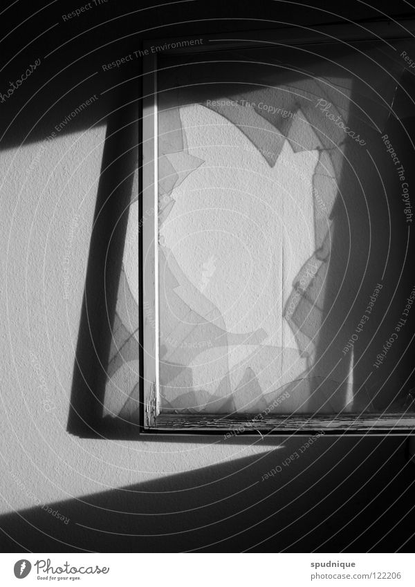 White Black Wall (building) Window Lighting Glass Transience Derelict Transparent Window pane Frame Shard Window frame