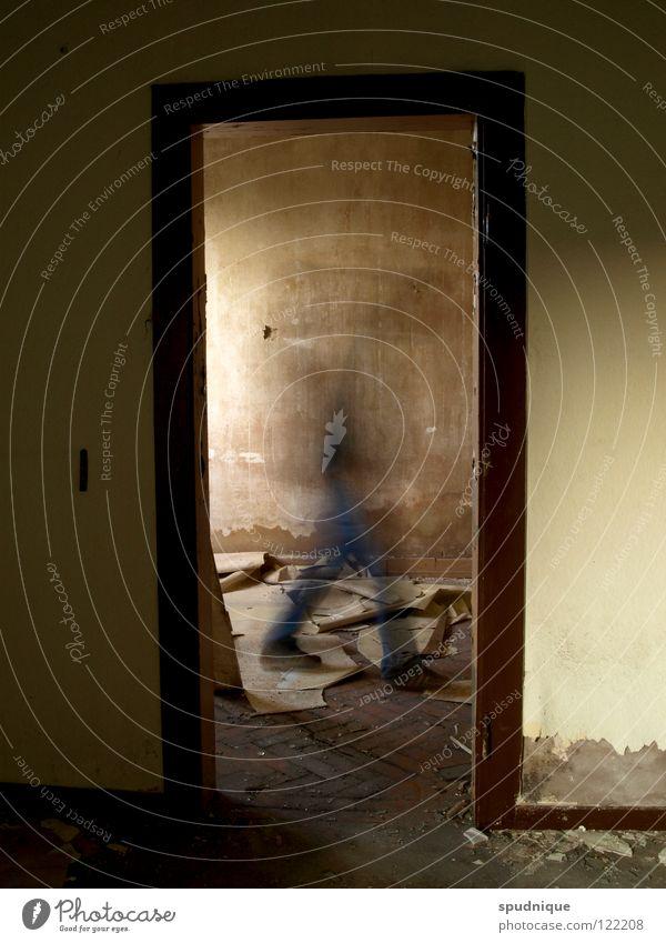 Loneliness Cold Movement Room Dirty Door Walking Transience Wallpaper Derelict Past Ghosts & Spectres  Frame Doorframe