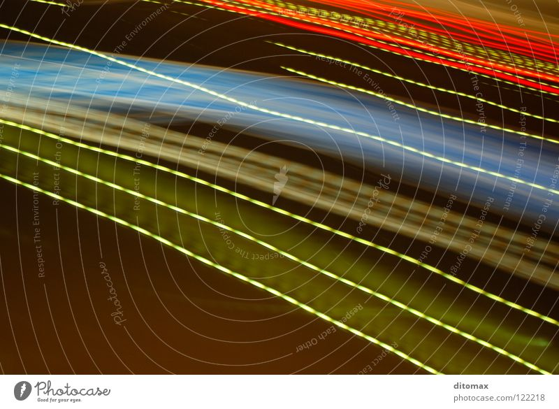 Light on Earth Background picture Transport Long exposure Street sign texture abstract Art blue driving lines night red Signal traces traffic drive blur