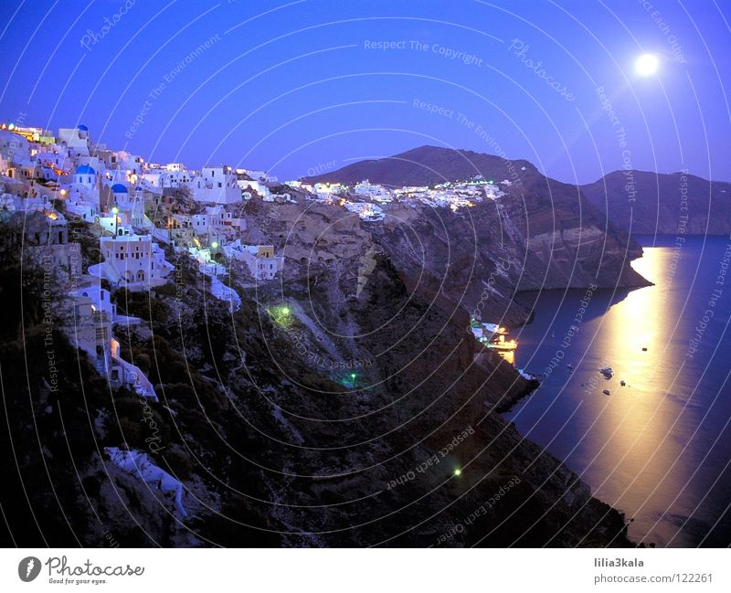 SANTORINI Greece Summer Beach Ocean Enchanting Vacation & Travel Europe Coast Island wundeschoen Sun Blue