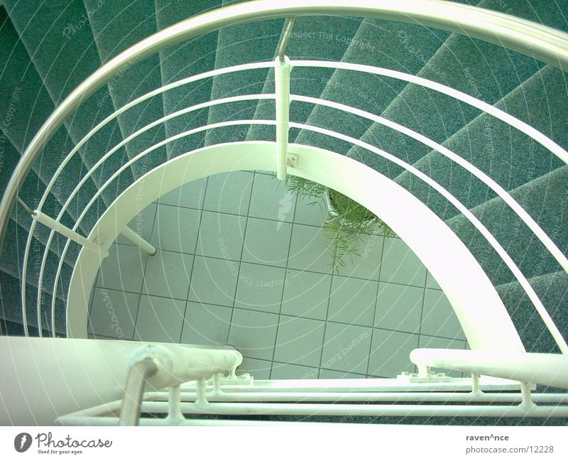 Architecture Stairs Floor covering Under Steel Flow Winding staircase