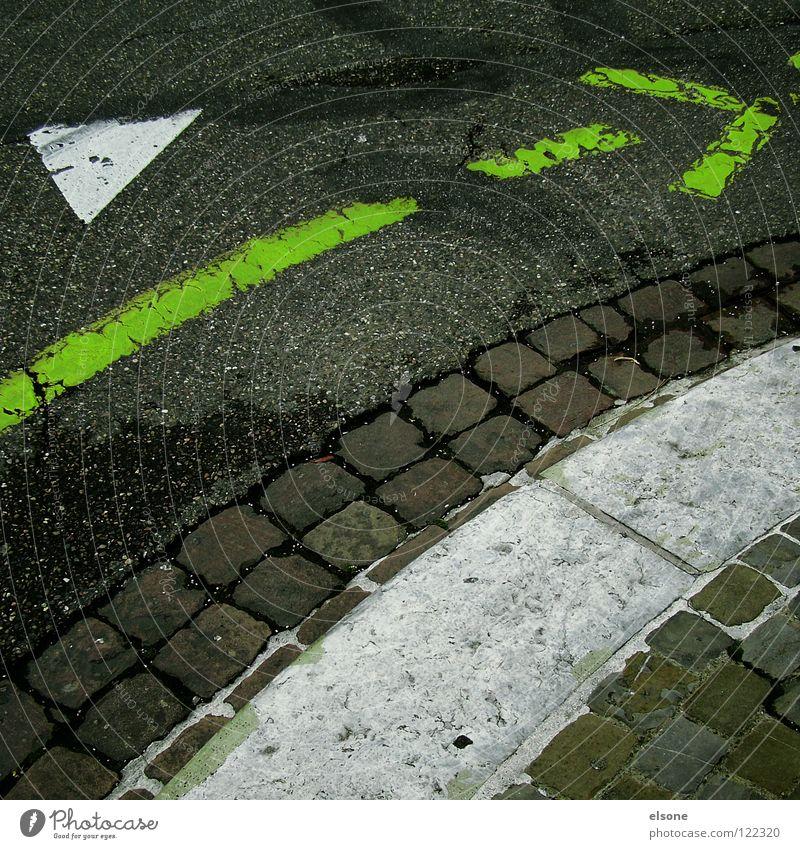 White Green City Street Style Gray Lanes & trails Line Dirty Road traffic Transport Empty Simple Switzerland Asphalt Stripe