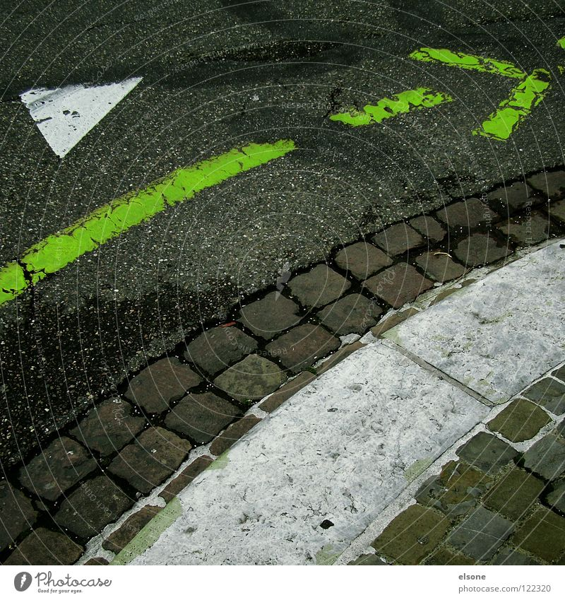 White Green City Street Style Gray Lanes & trails Line Dirty Road traffic Transport Empty Simple Switzerland Asphalt Stripe