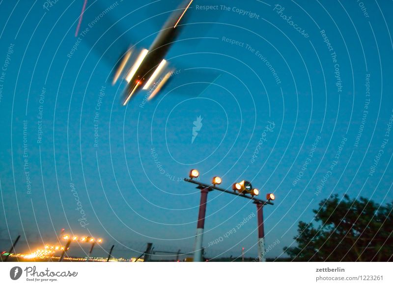 Sky Vacation & Travel Travel photography Berlin Flying Aviation Copy Space Beginning Speed Airplane Haste Airplane takeoff Departure Airplane landing Dynamics