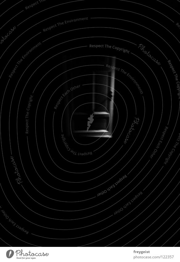 Dark Dream Fear Door Open Creepy Panic Staircase (Hallway) Nightmare Comfortless Unconscious