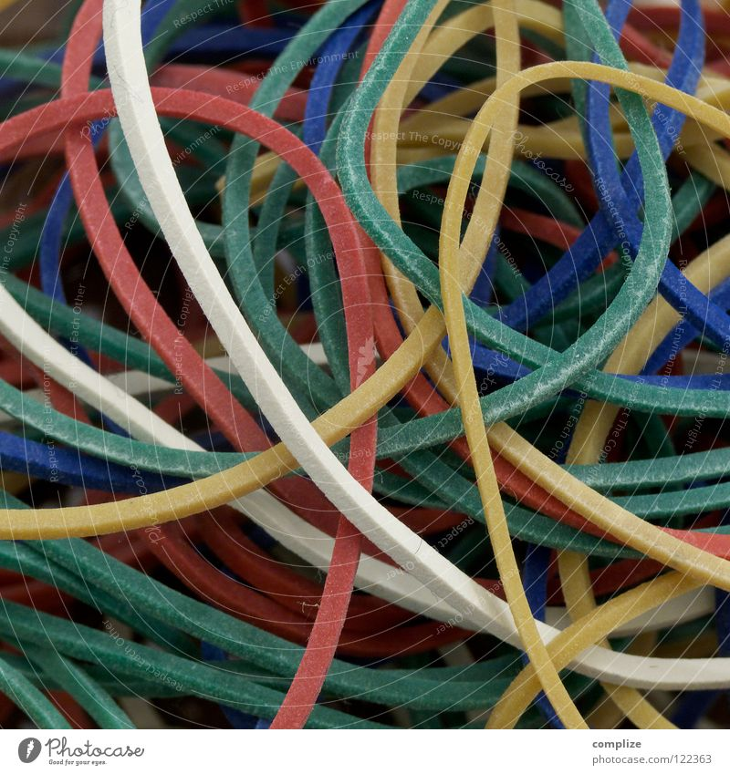 rubber Flexible Rubber Stationery Multicoloured Difference Multiple Carton Table Practical Attachment Bond String ductile expandable Elastic band color Equal