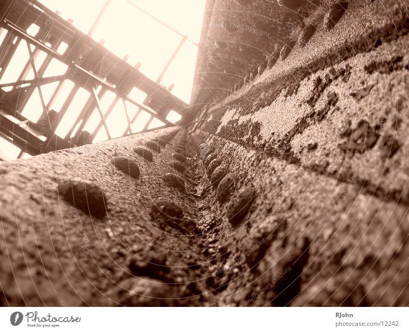 Rusty Carrier Steel Rustic Historic Bridge Rivet