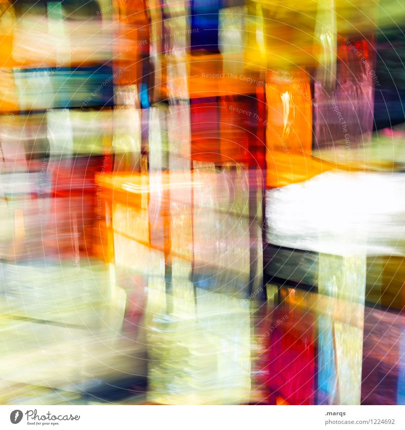 Colour Window Movement Style Lifestyle Exceptional Design Elegant Glass Irritation Double exposure