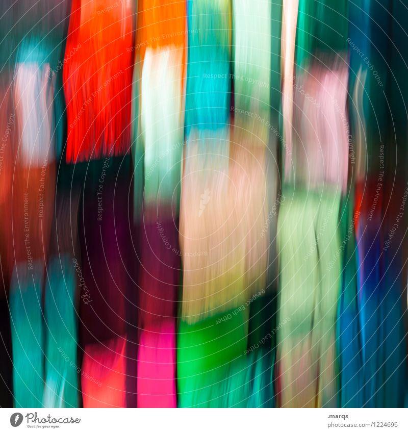 streak Elegant Style Design Glass Stripe Cool (slang) Crazy Multicoloured Colour Surrealism Irritation Background picture Long exposure Colour photo