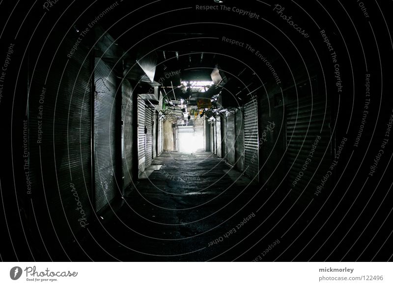 suk - market in damascus Bazaar Calm Closed Deserted Marketplace Light Tunnel Light tunnel Garage Birth Ask Answer Playing Deities Going Obscure Markets Empty