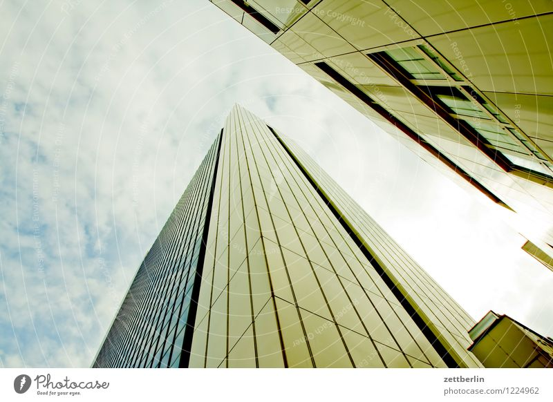 IHZ Berlin Downtown Berlin Capital city Town Friedrichstrasse House (Residential Structure) High-rise Office building Story Facade Steep Worm's-eye view