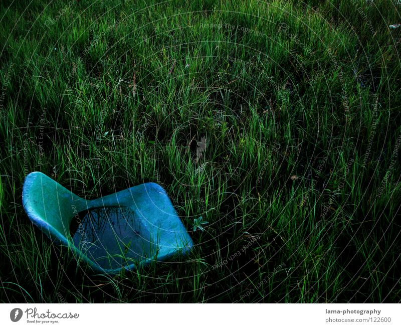 Water Old Green Blue Plant Meadow Grass Lake Rain Dirty Environment Wet Earth Places Chair