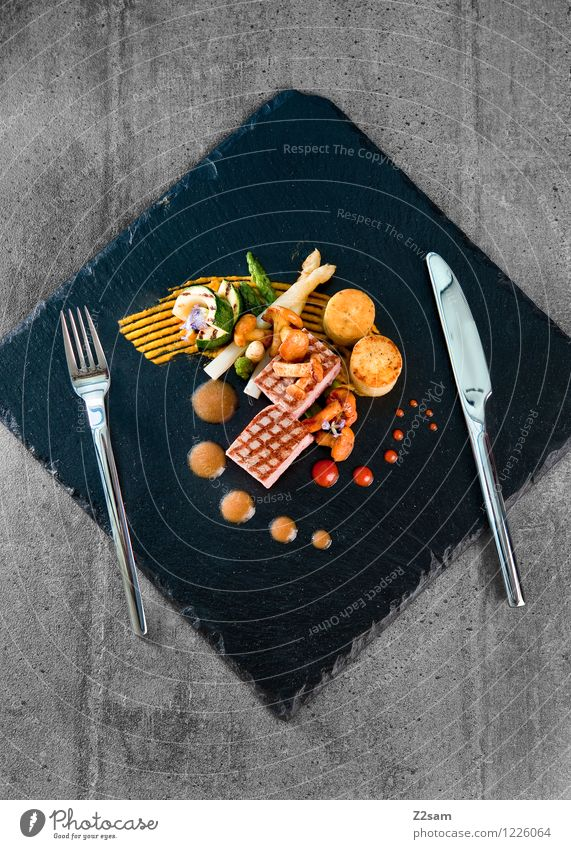 Colour Healthy Food Elegant Esthetic To enjoy Cooking & Baking Vegetable Restaurant Crockery Mushroom Luxury Plate Meat Inspiration Dinner