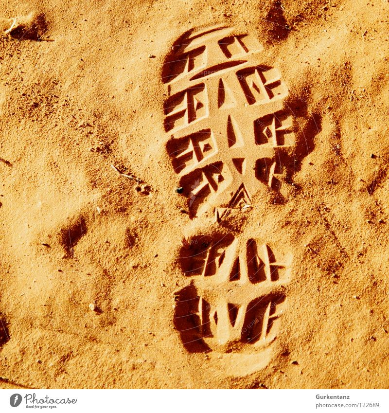 Red Sand Orange Earth Desert Tracks Footwear Footprint Australia Hiking boots Ochre Outback Shoe sole Alice Springs