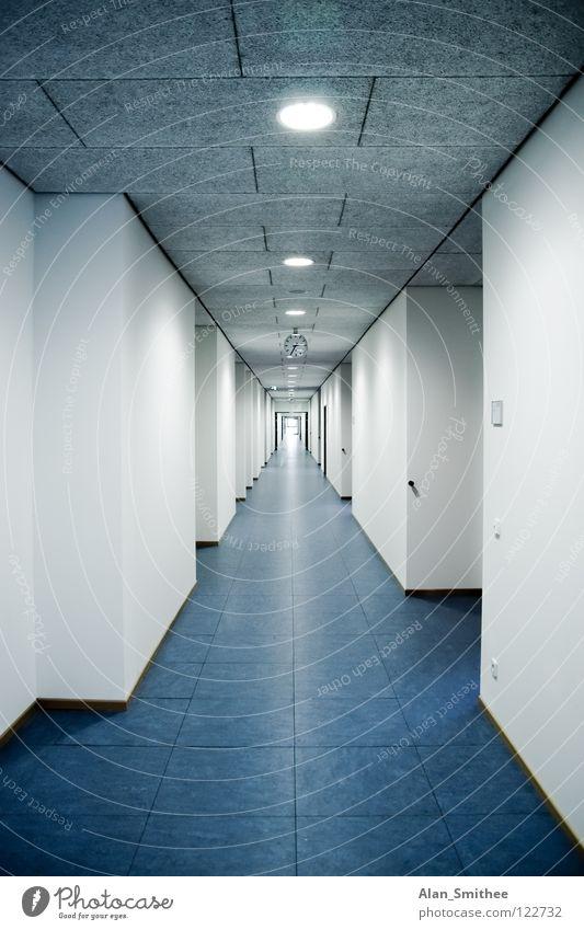 corridor Dance floor Office Hallway Building Clean architecture high school School new Work and employment Business School building