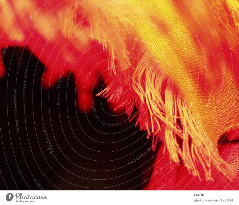 fringe fabric Cloth Scarf Red Yellow Black Pattern Textiles Woven Edge Clothing Fringe Orange eye-fringed Sewing thread