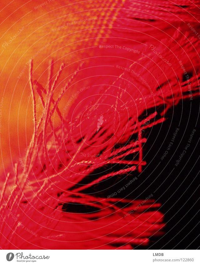 fringed Cloth Scarf Red Yellow Black Pattern Textiles Woven Edge Clothing Fringe Orange eye-fringed Sewing thread