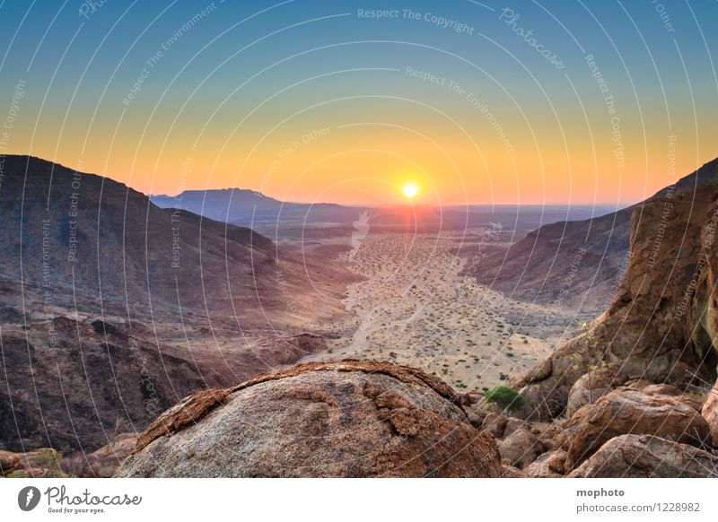 At the end of the day. Vacation & Travel Adventure Far-off places Sun Nature Landscape Sunrise Sunset Sunlight Beautiful weather Warmth Drought Hill Rock Canyon